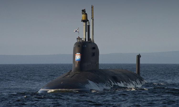 Tàu ngầm Severodvinsk ra biển tuần tra năm 2019. Ảnh: Bộ Quốc phòng Nga.