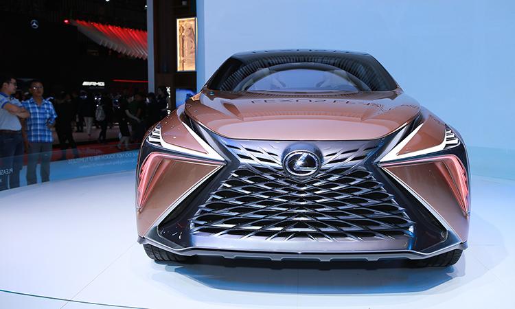 Thi?t k? xe Lexus ngày càng tr?. Chi?c Lexus LF-1?Limitless?t?i VMS 2019. ?nh: Tu?n Cao