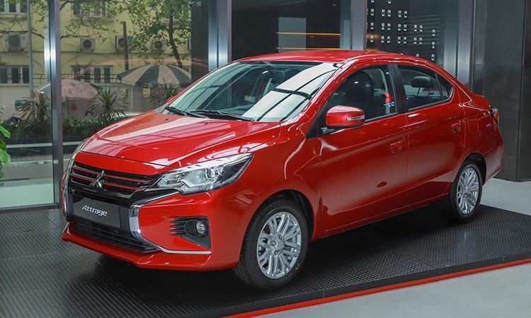 Mitsubishi Attrage 2020 bản CVT giá 460 triệu. Ảnh: Lương Dũng.