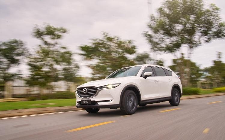 Mẫu xe 7 chỗ thực thụ được Mazda trang bị nhiều tiện nghi phục vụ gia đình.