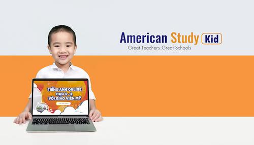 Một buổi học trực tuyến tại American Study kéo dài 45 phút.