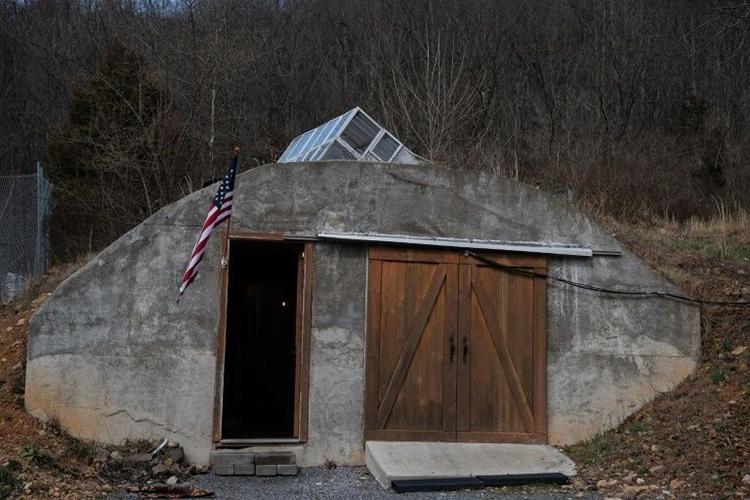 Một boongke củaFortitude Ranch ởMathias, bang West Virginia, Mỹ. Ảnh:AFP