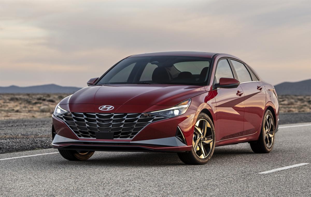 Elantra thế hệ mới ra mắt tại Mỹ hôm 17/3, bán từ quý IV năm nay. Ảnh: Hyundai