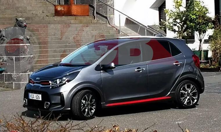Kia Morning/Picanto phiên bản nâng cấp xuất hiện tại Đức. Ảnh: The Korean Car Blog