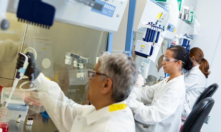 Moderna chỉ mất 42 ngày để tạo lô vaccine Covid-19 đầu tiên cho thử nghiệm vào tháng 4. Ảnh: Business Insider.