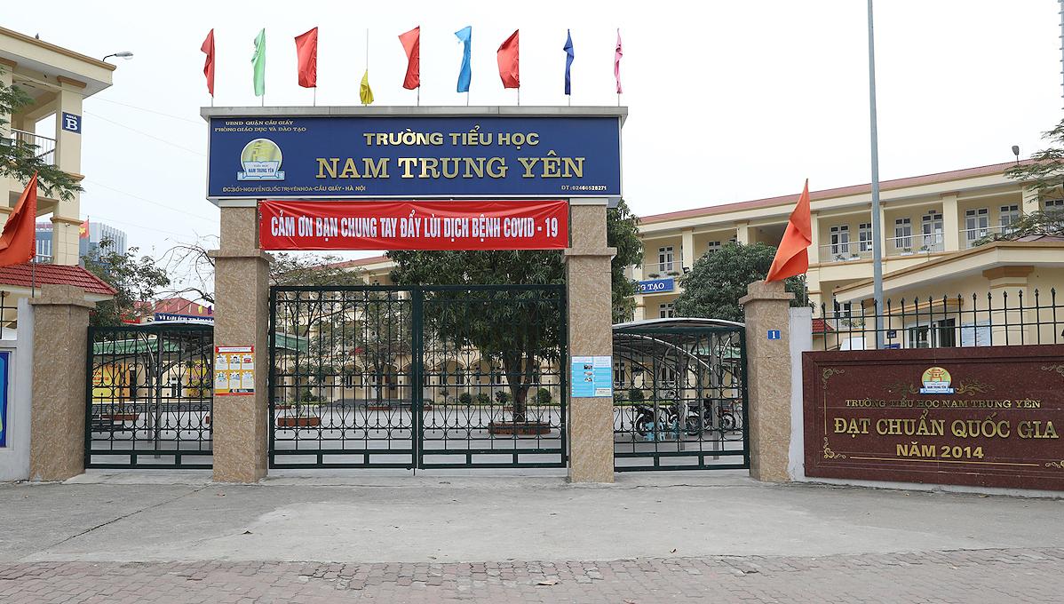 Học sinh các cấp của TP Hà Nộinghỉ học đến 5/4. Ảnh: Ngọc Thành.