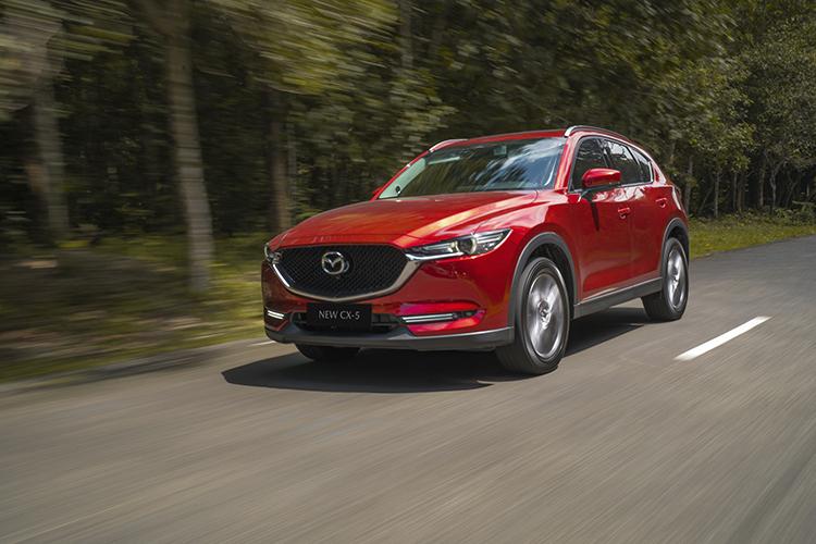 Mazda CX-5 thế hệ mới tại Việt Nam.