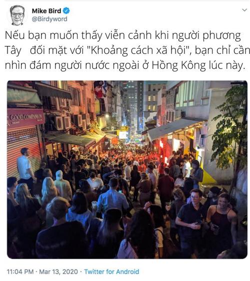 Người nước ngoài ở Hong Kong.