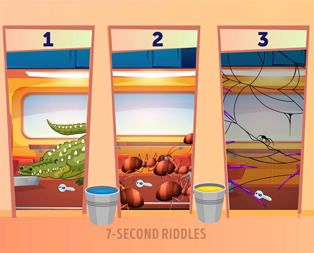 Kiểm tra khả năng sinh tồn với năm câu đố
