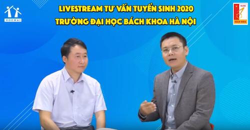 Phó giáo sư, Tiến sĩTrần Trung Kiên, Trưởng phòng Tuyển sinh Đại học Bách khoa Hà Nội.