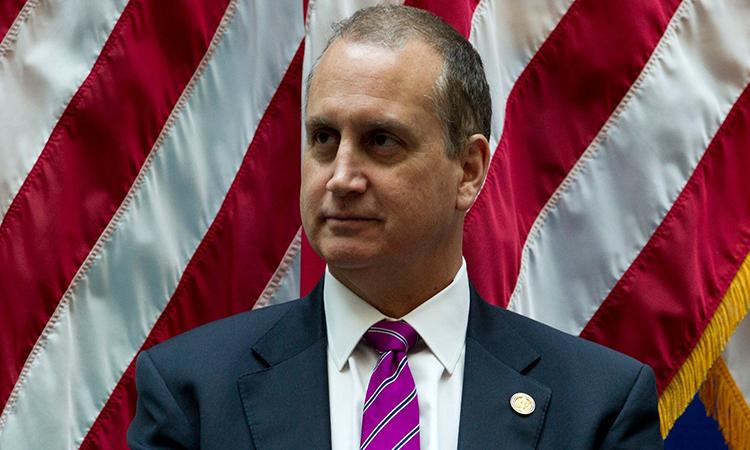 Nghị sĩMario Diaz-Balart tại một sự kiện ở Washington tháng 12/2018. Ảnh: AP.