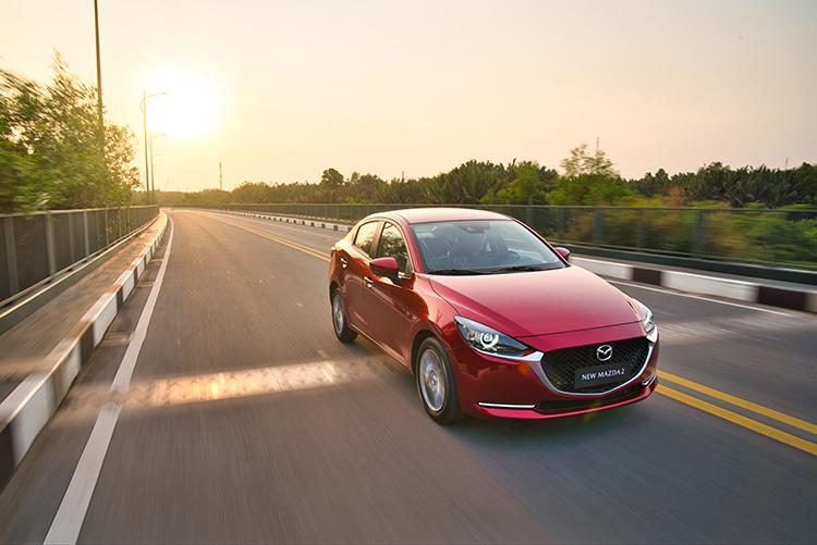Mazda2 thiết kế theo ngôn ngữ Kodo đặc trưng.