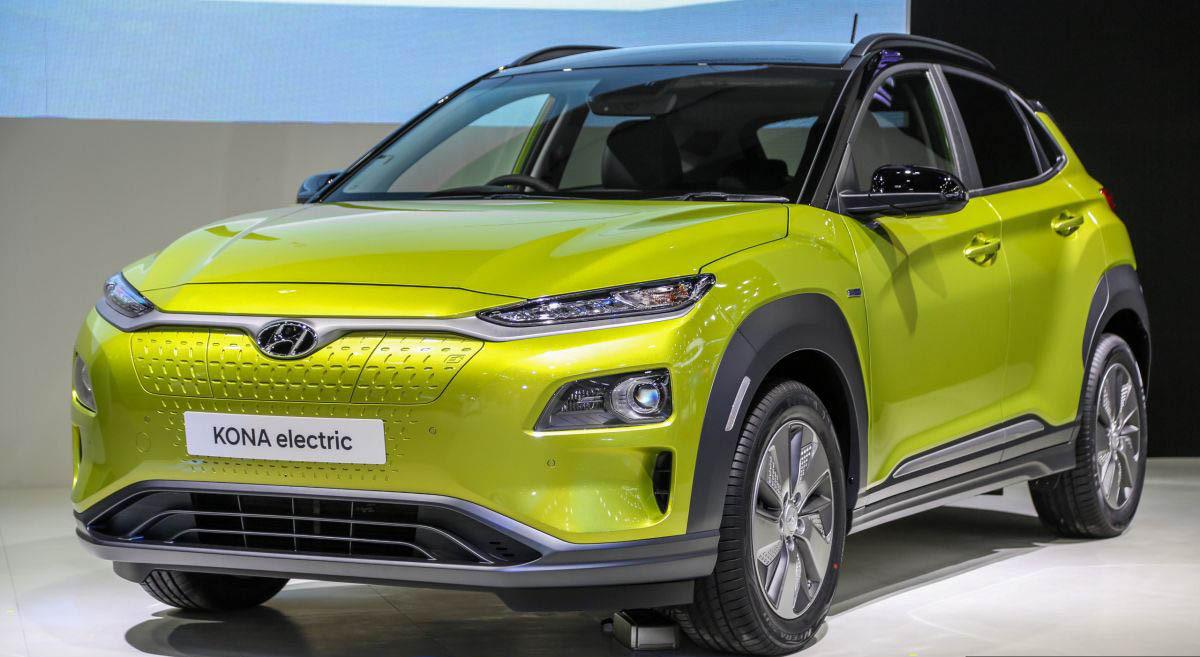 Hyundai Kona chạy điện giá từ 58.000 USD tại triển lãm Bangkok 2019. Ảnh: Paultan