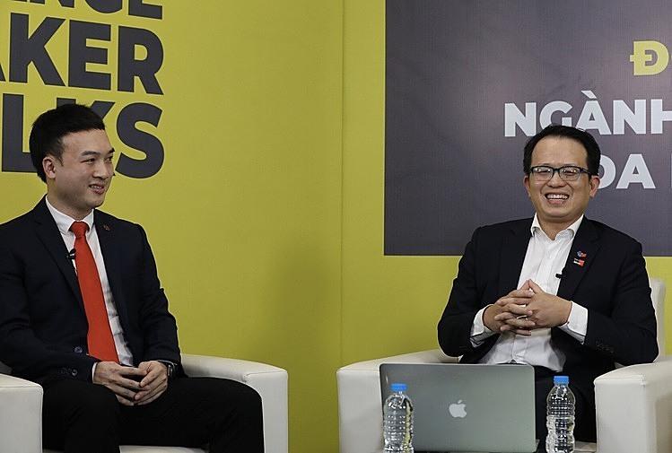 Tiến sĩBình Dương và Tiến sĩ Hoàng Hà đưa ra nhiều nhận định lạc quan về thị trường việc làm ngành truyền thông.