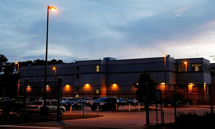 Nhà tù hạt Chatham ở bangGeorgia, Mỹ ngày 2/5/2019. Ảnh: Reuters.
