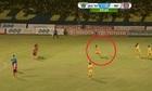 Pha đá phạt thảm họa nhất V-League