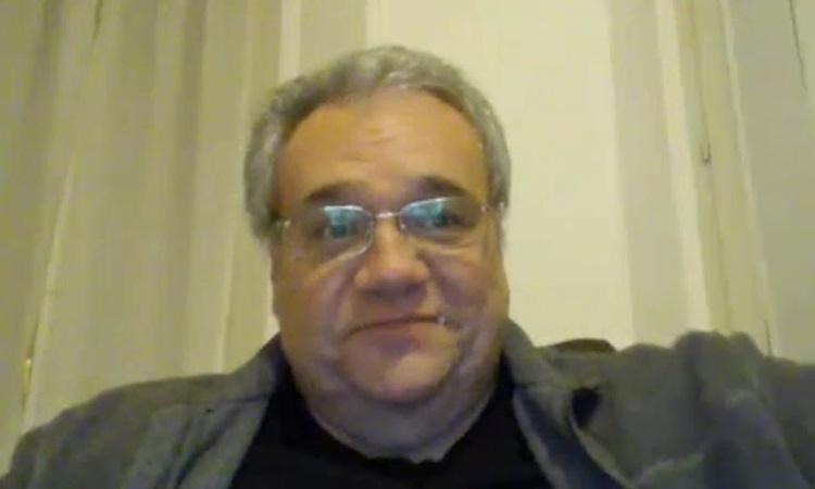 Bác sĩ Marcello Natali trong cuộc phỏng vấn với Euronew cuối tháng trước. Ảnh: Euro News.