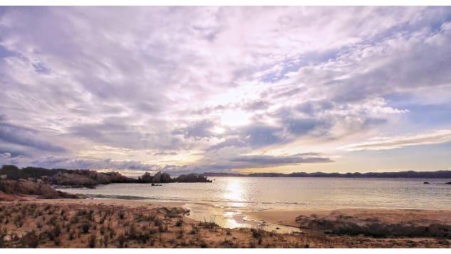 Cảnh tượng ở đảo Budelli. Ảnh: CNN/Mauro Morandi