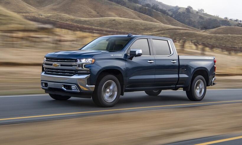 Chevrolet Silverado đời 2020 hiện có giá thuê mỗi tháng chỉ khoảng 30% so với trước đây. Ảnh: Chevrolet