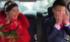 Chú rể khóc trên ôtô khi thấy dung nhan cô dâu
