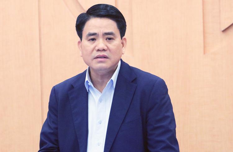 Chủ tịch TP Hà Nội Nguyễn Đức Chung. Ảnh: Võ Hải.