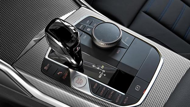 Thiết kế cần số và bộ điều khiển mới trên BMW Series 3.