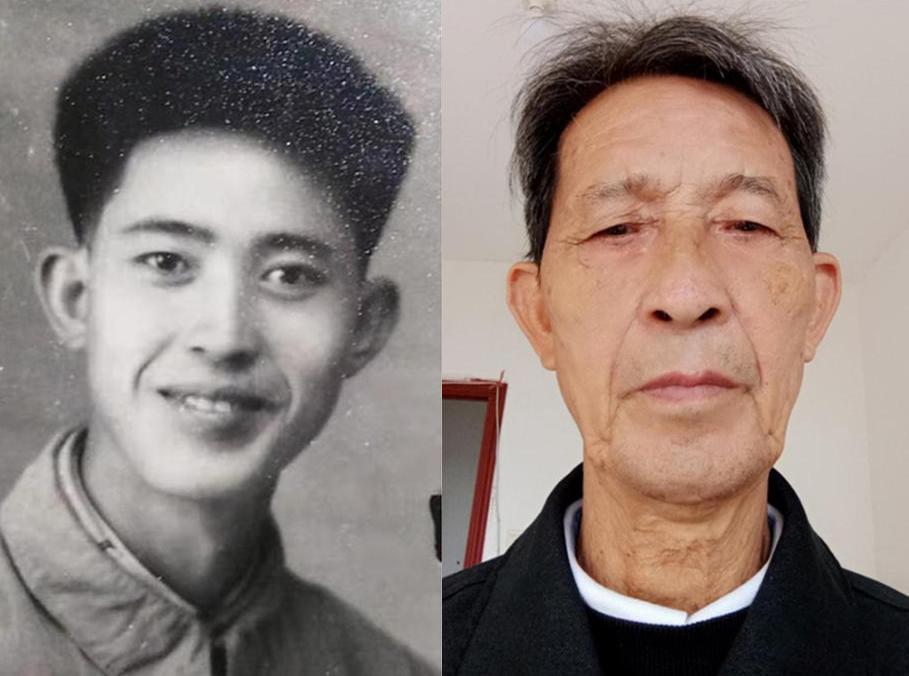 Lưu Trí Phát ở tuổi 25 (trái) và khi đã 71 tuổi. Ảnh: Red Star News.