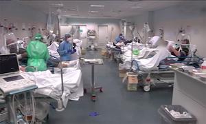 Bên trong bệnh viện quá tải ở Italy