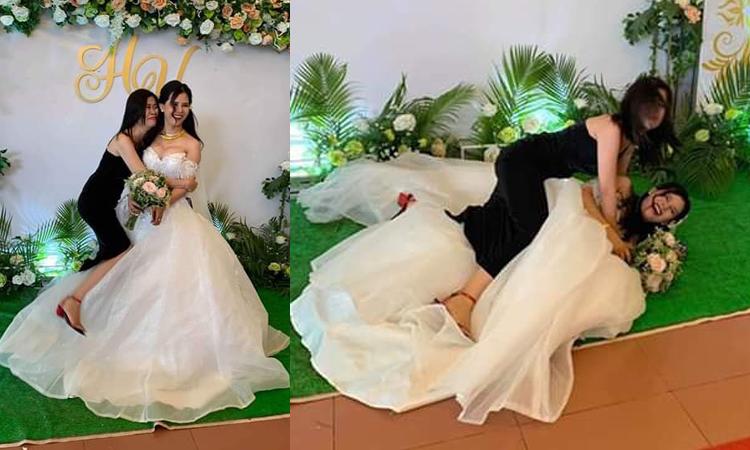 Cô gái mừng như được mùa khi bạn thân lấy chồng