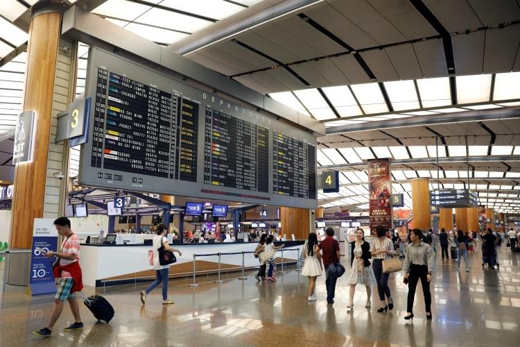 Sân bay Changi, Singapore. Ảnh: Reuters.