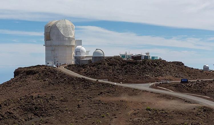 DKIST - kính viễn vọng mặt trời lớn nhất thế giới đặt tại Hawaii. Ảnh: SCMP.