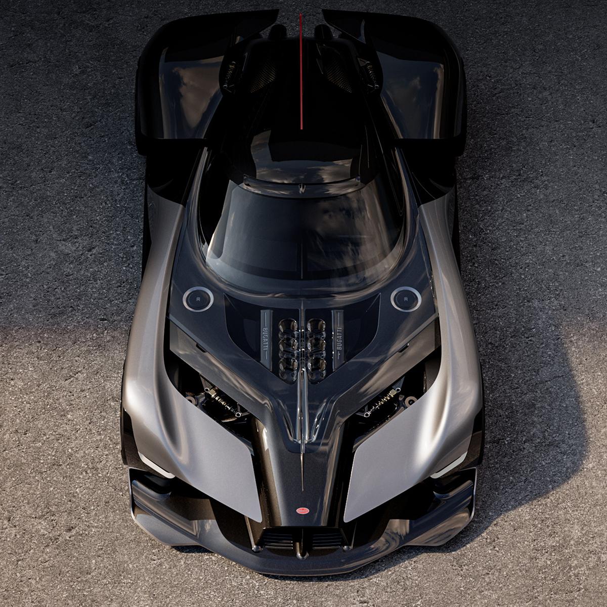 Bugatti LaFinale concept.