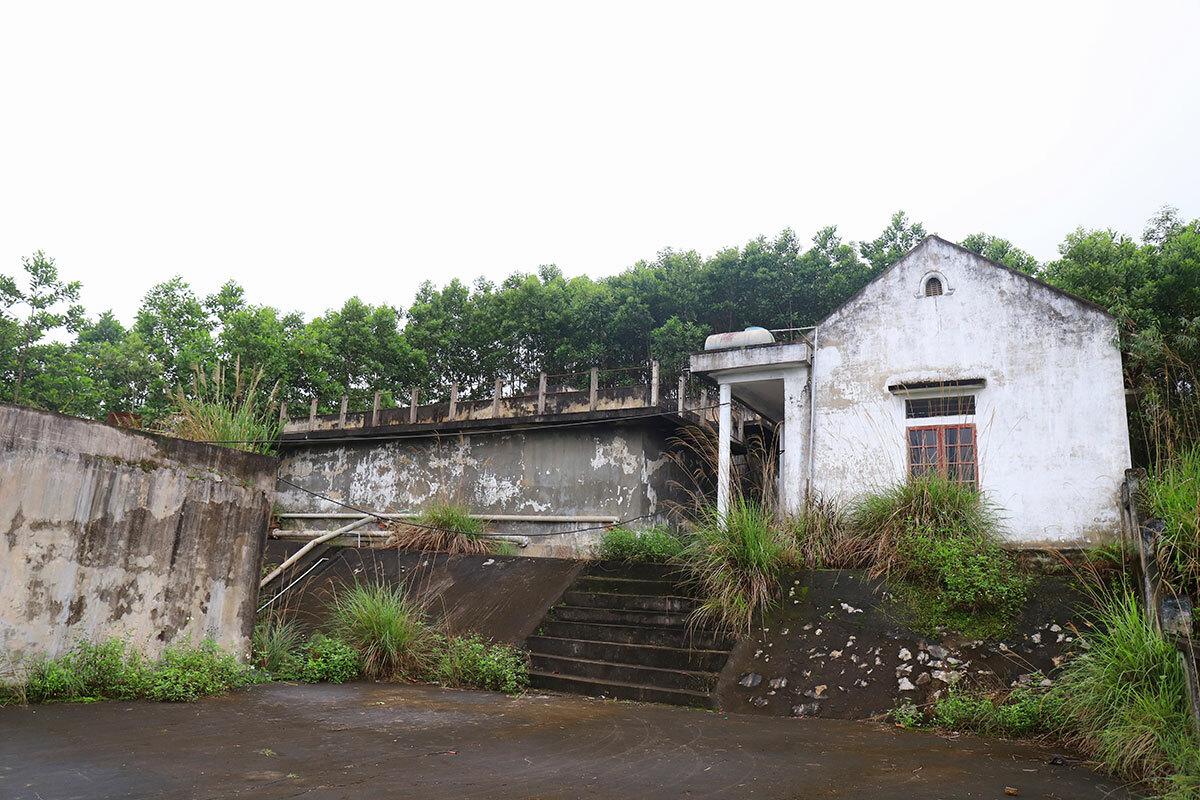Nhà máy nước sạch ở xã Đức Lạng. Ảnh: Đức Hùng
