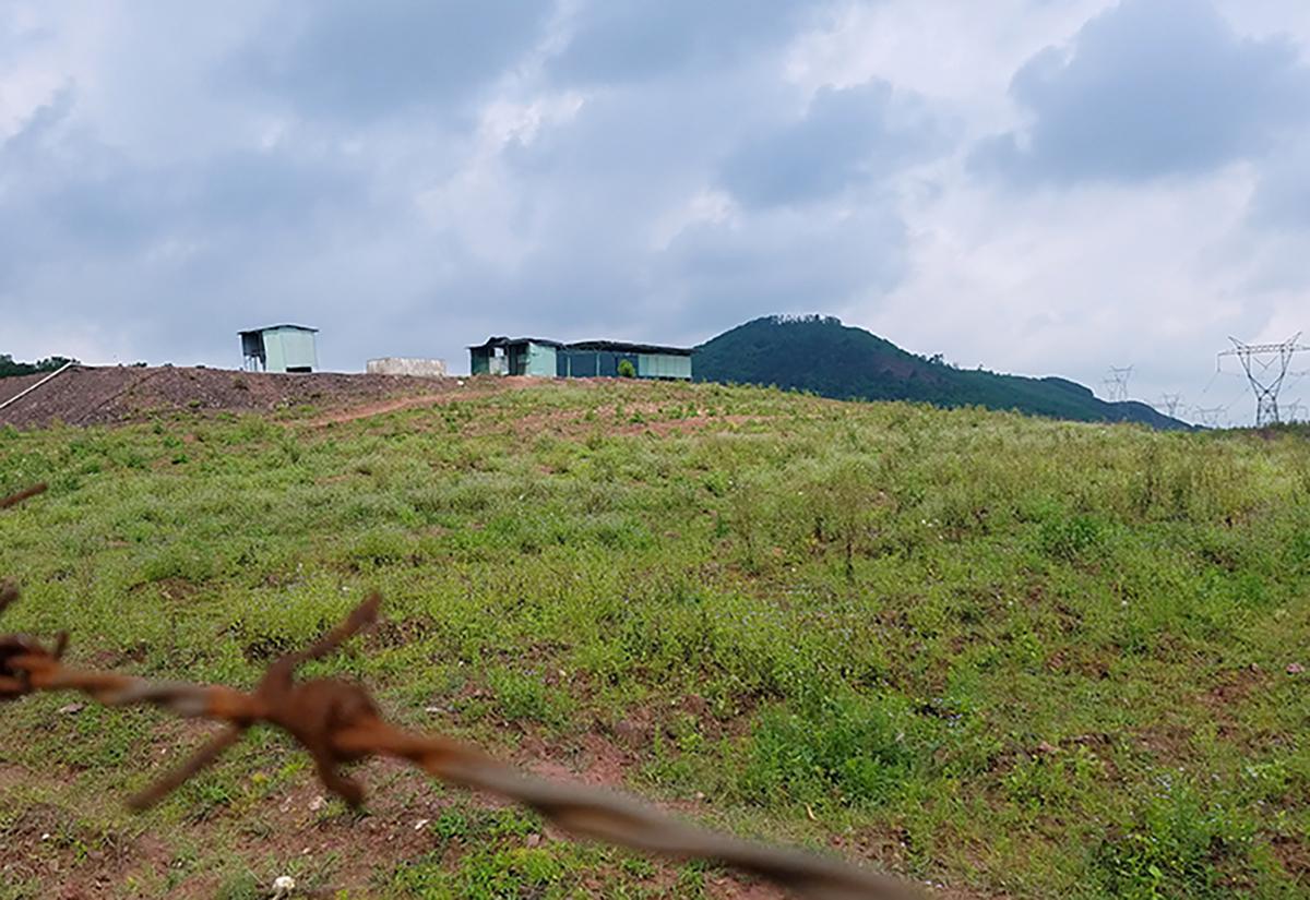 Hiện không còn con bò nào được nuôi ở dự án tại Hà Tĩnh. Ảnh: Đức Hùng.
