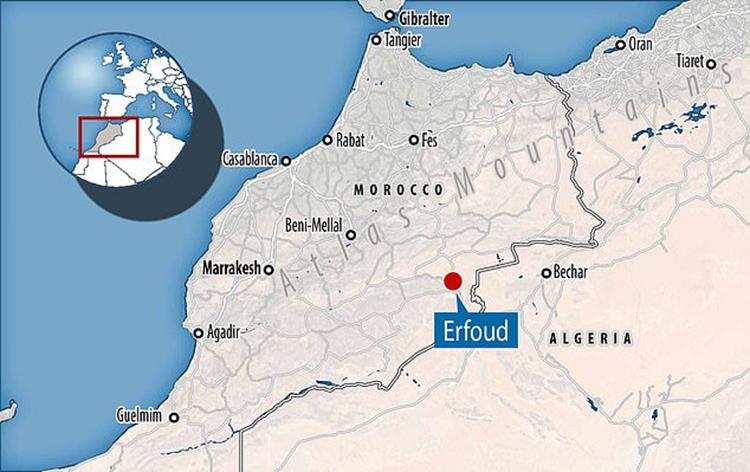 Hóa thạch được tìm thấy ở đông nam Monaco. Ảnh: DailyMail.