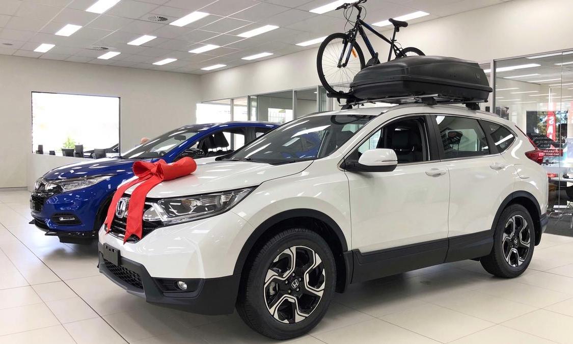 Các đại lý Honda Australia sẽ trở thành phòng trưng bày từ 7/2021, chủ yếu bán ba mẫu xe HR-V, CR-V và Civic. Ảnh: CarAdvice