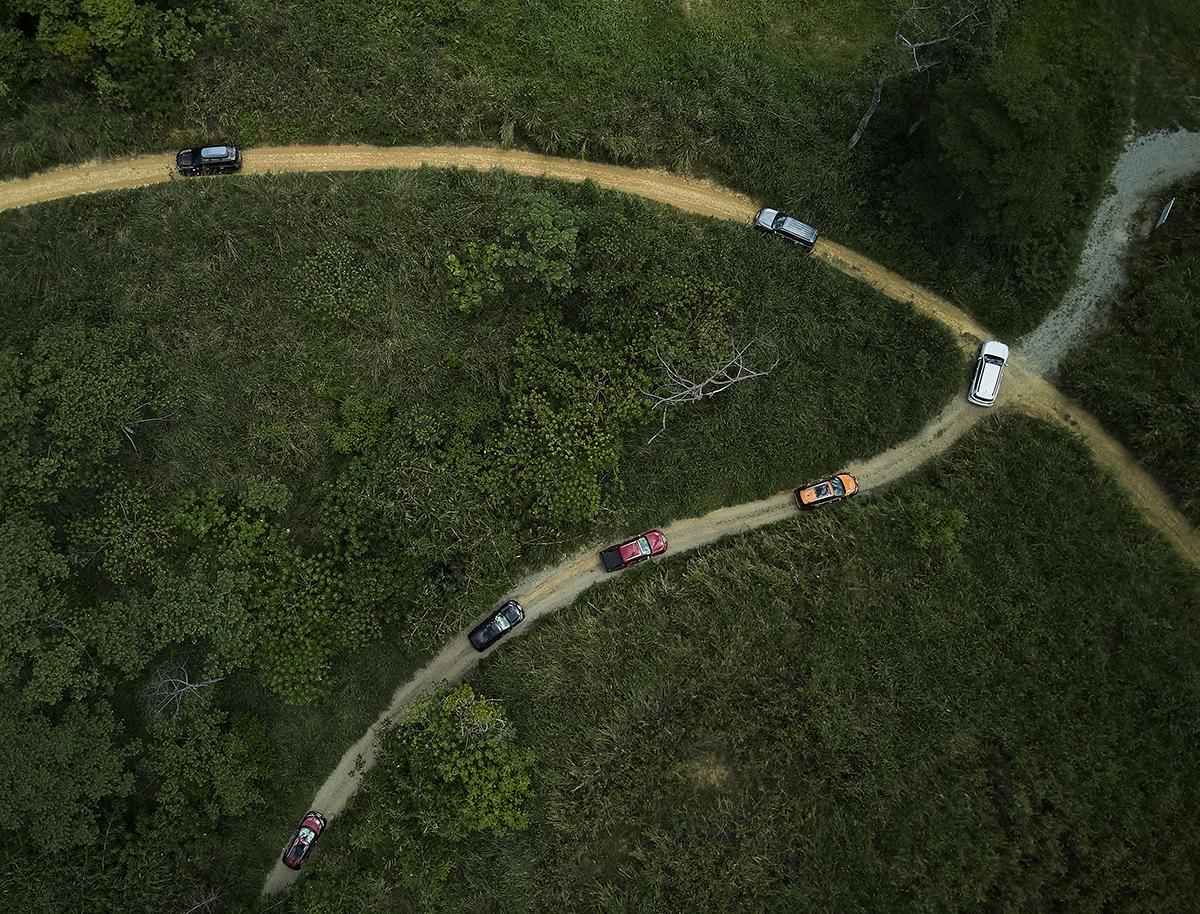 Thử thách cung đường đồi núi.