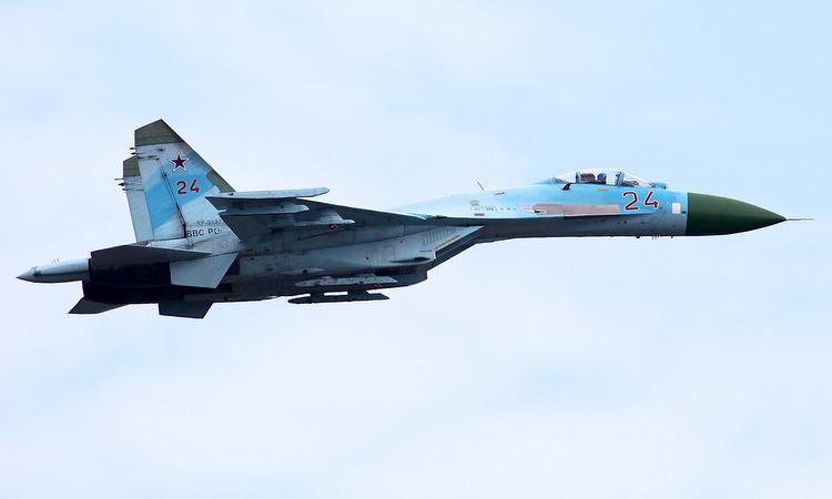 Tiêm kích Su-27 của không quân Nga. Ảnh: Russian Planes.