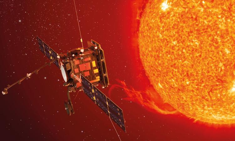 Solar Orbiter, vệ tinh nghiên cứu Mặt Trời, tạm thời dừng hoạt động. Ảnh: ESA.