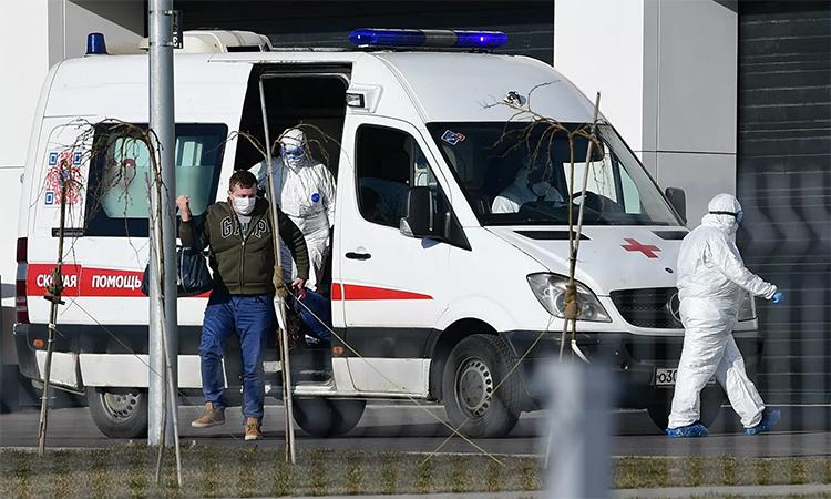 Số người nhiễm nCoV ở Nga vượt 1.000