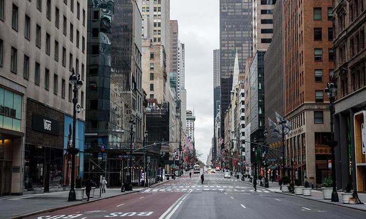 """New York hóa """"miền ảo ảnh"""" giữa Covid-19"""