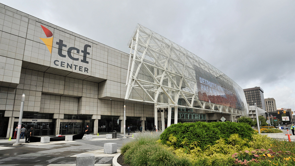 Nơi diễn ra triển lãm ô tô Bắc Mỹ. Ảnh: Detroit Free Press