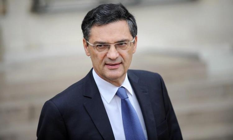 Cựu bộ trưởng nội các Pháp Patrick Devedjian. Ảnh: AFP.