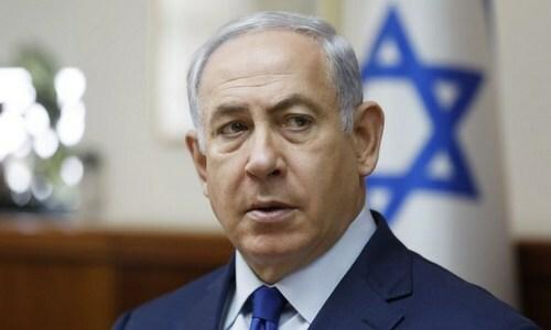 Thủ tướng Israel Nentayhu hồi năm 2019. Ảnh: Reuters.