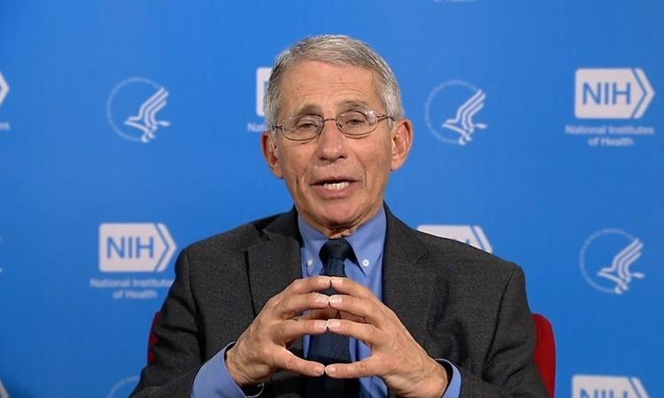 Giám đốc Viện Dị ứng và Bệnh Truyền nhiễm Quốc gia Anthony Fauci. Ảnh: BBC.