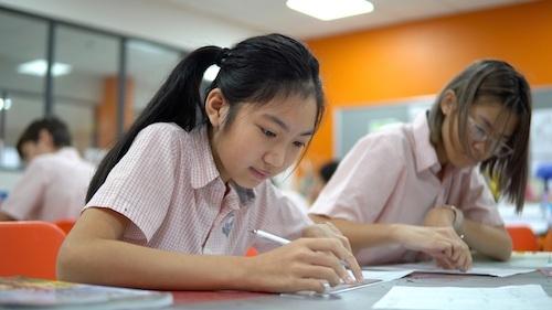 Học sinh của trường thường nằm trong bảng vàng thành tích của các kỳ thi chứng chỉ trung học đại cương của Cambridge (IGCSE) tại Việt Nam và thế giới.