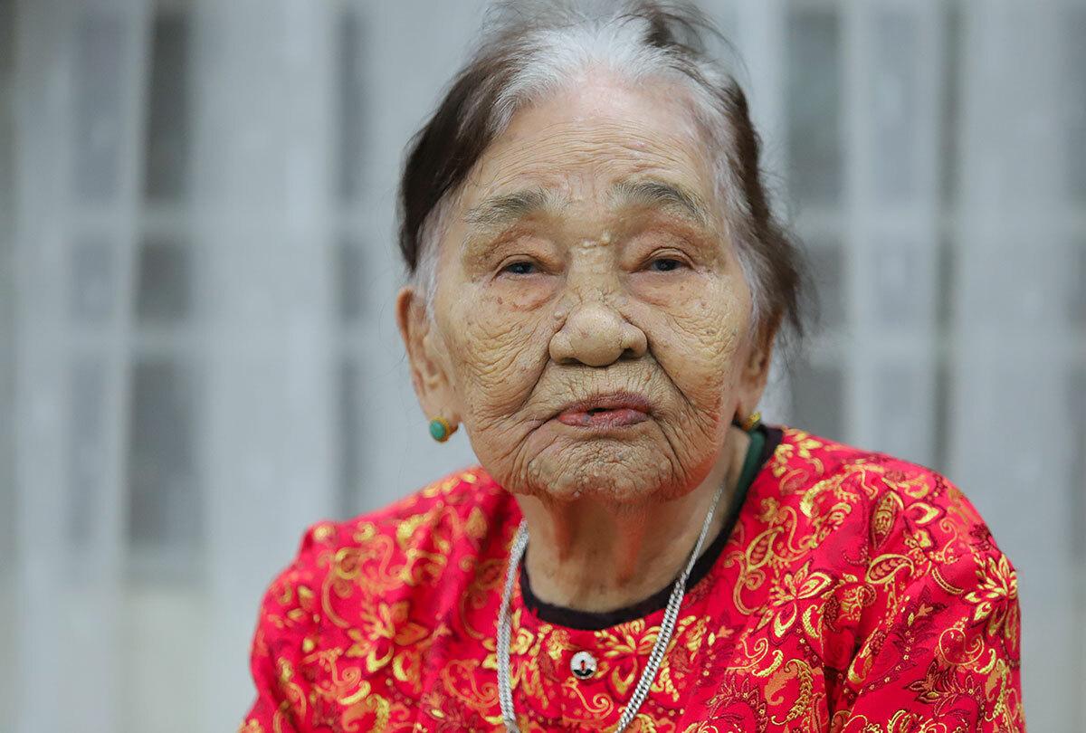 Bà Nguyễn Thị Tửu. Ảnh: Đức Hùng