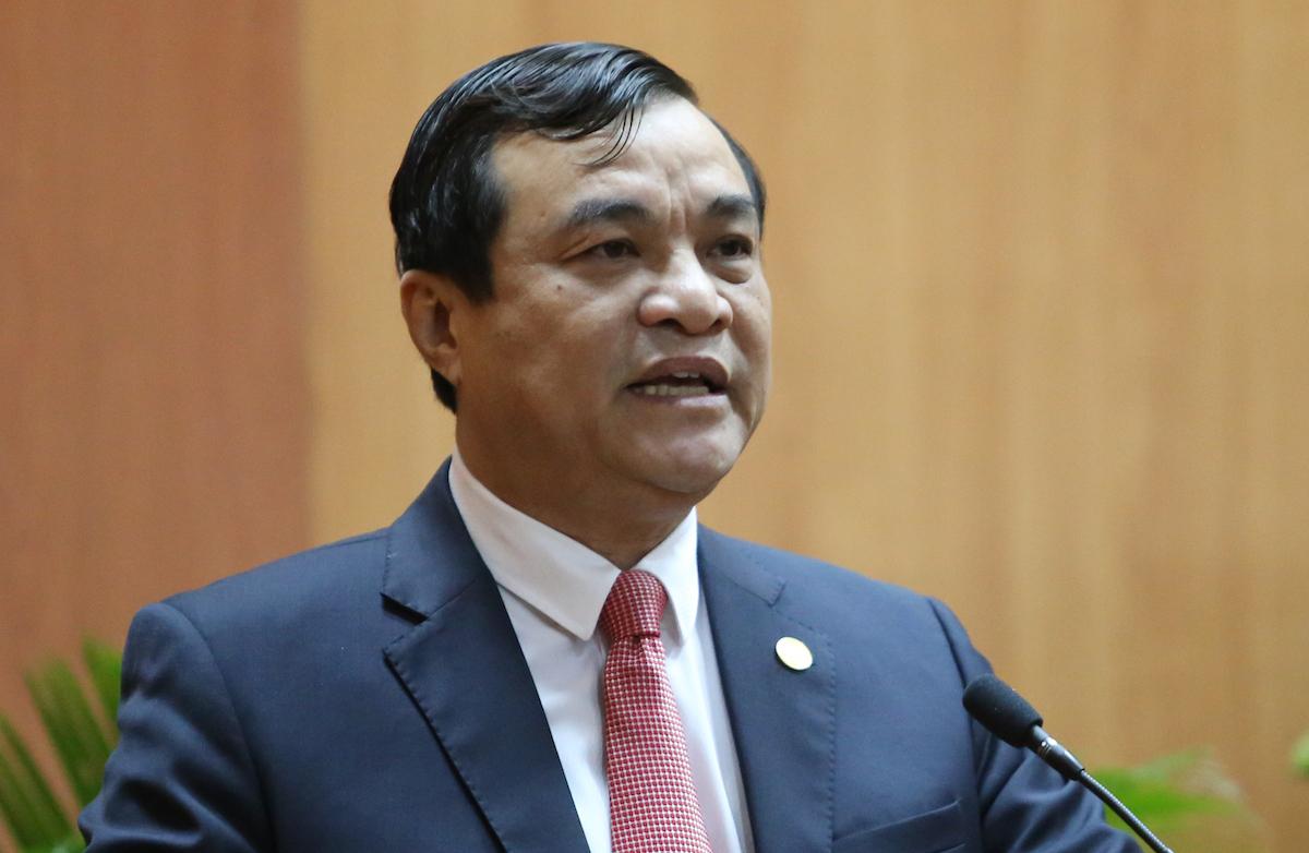 Ông Phan Việt Cường, Bí thư Tỉnh uỷ Quảng Nam. Ảnh: Đắc Thành