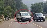 Cướp ôtô, đánh cảnh sát để trốn cách ly
