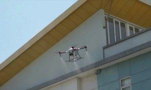 Indonesia dùng UAV phun thuốc khử trùng diệt nCoV
